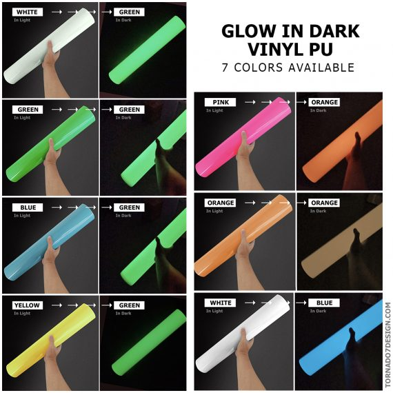 glow in dark product 7 colors