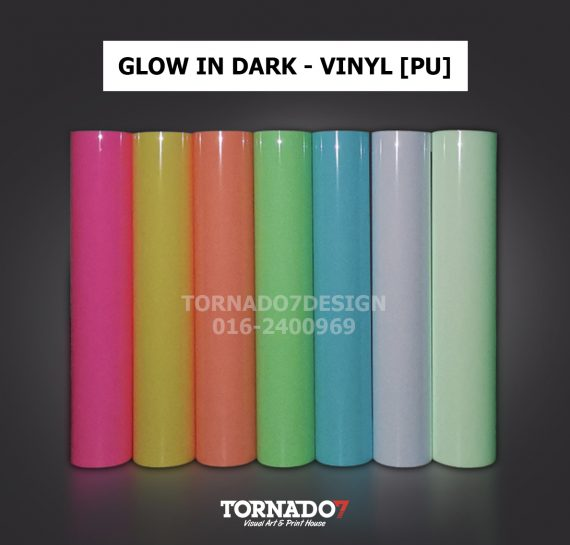 glow in dark product cover with contact
